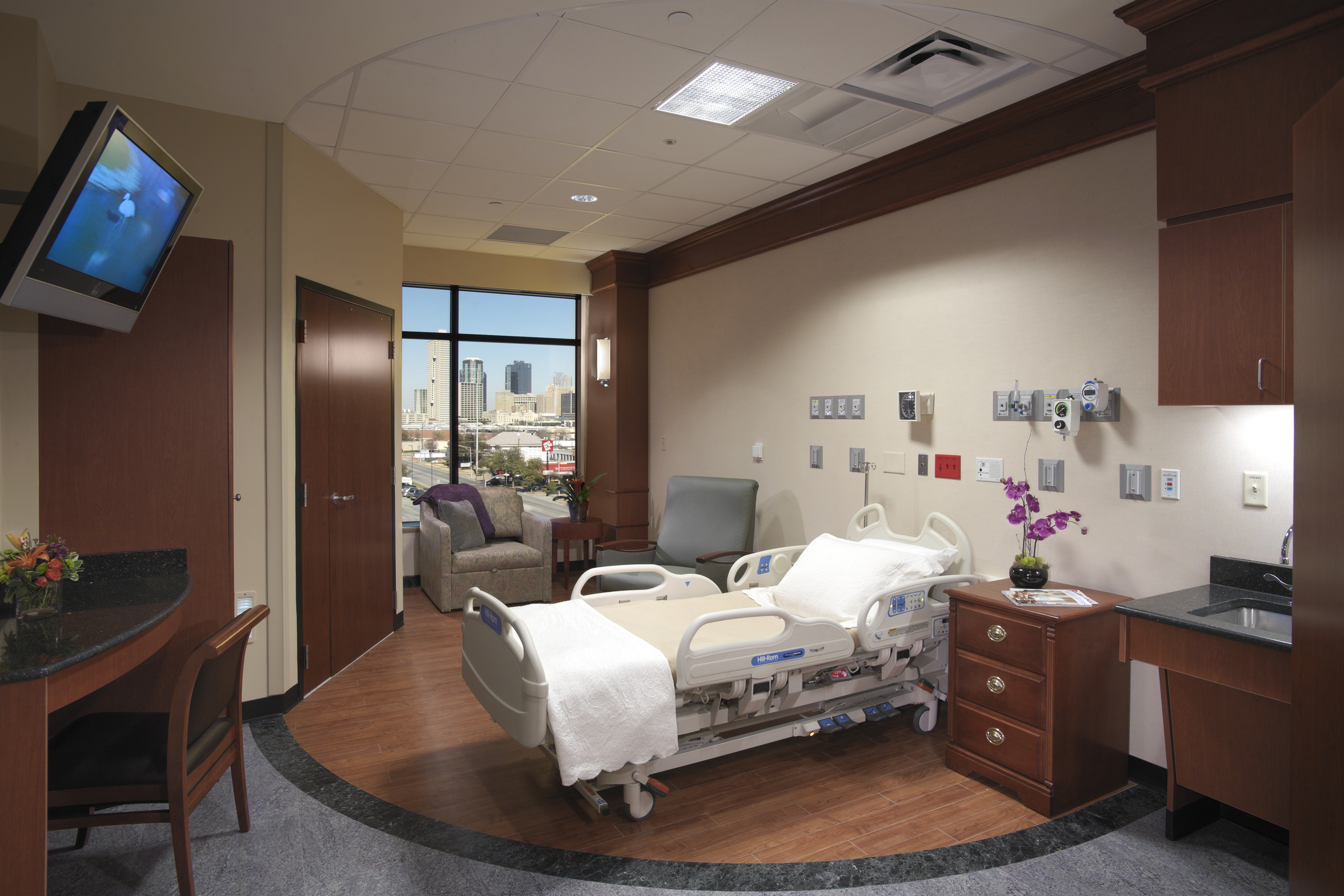 Extraneous and Peripheral Factors Impeding Designing for Flexibility    Funds:  Herman Miller Grant   Collaborators:  School of Nursing, University of Texas, Arlington, TX   Location:  Five acute care hospitals across the United States
