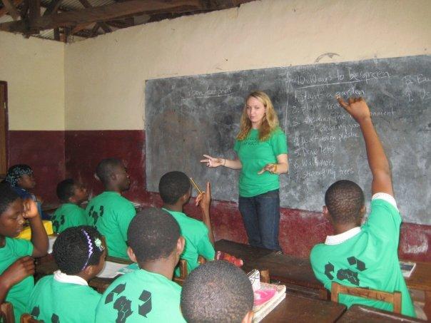 Go Green Africa Summer class, Bamenda Cameroon July 2009