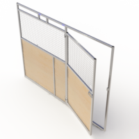 Full swing door access panels