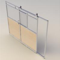 Full slide door access panel