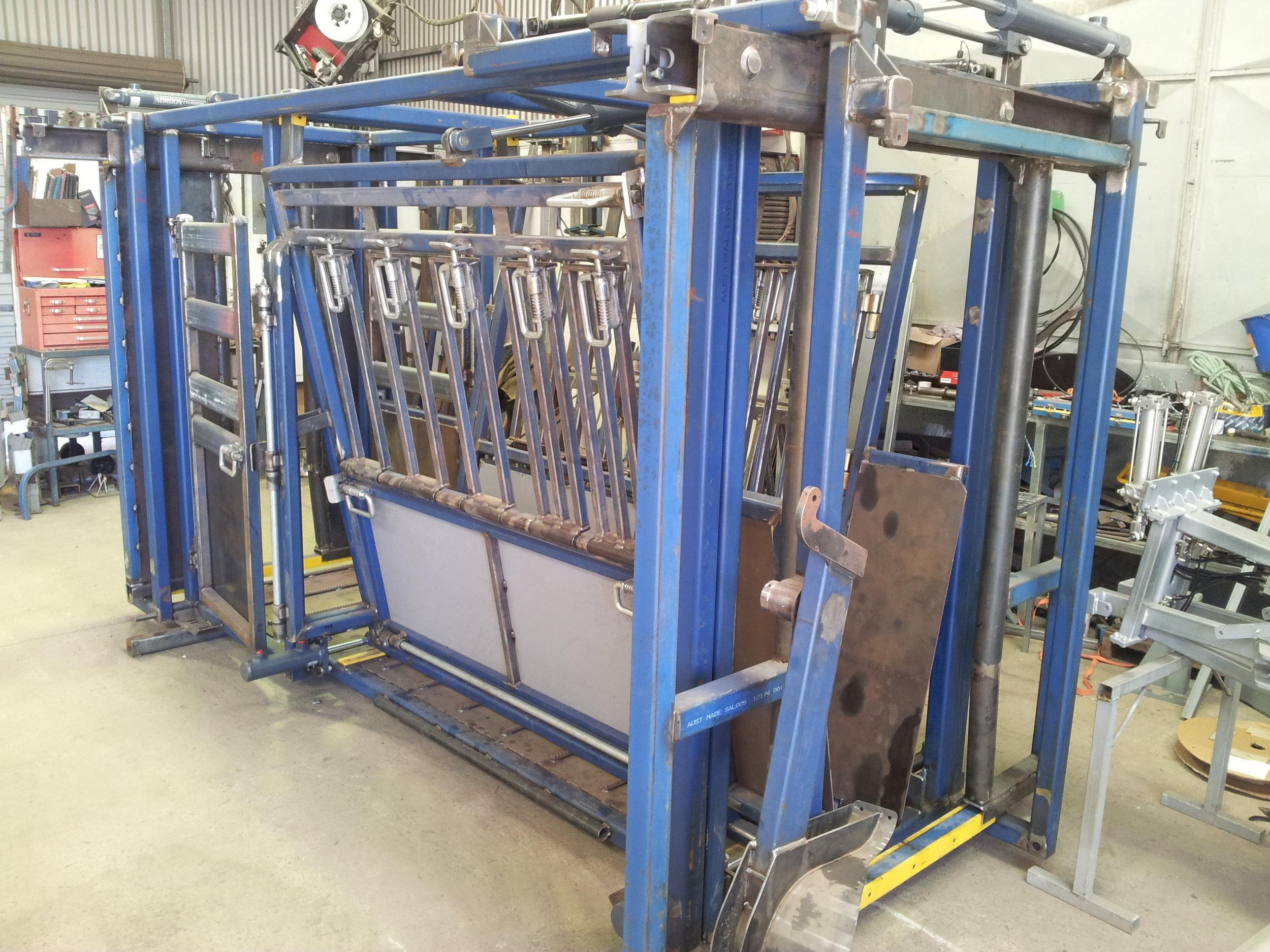 Prototype in Thompson Longhorn factory