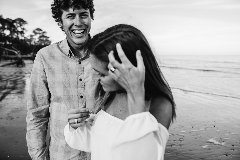 Emotive South Carolina Photographer | Couples Session | Hunting Island State Park Photos