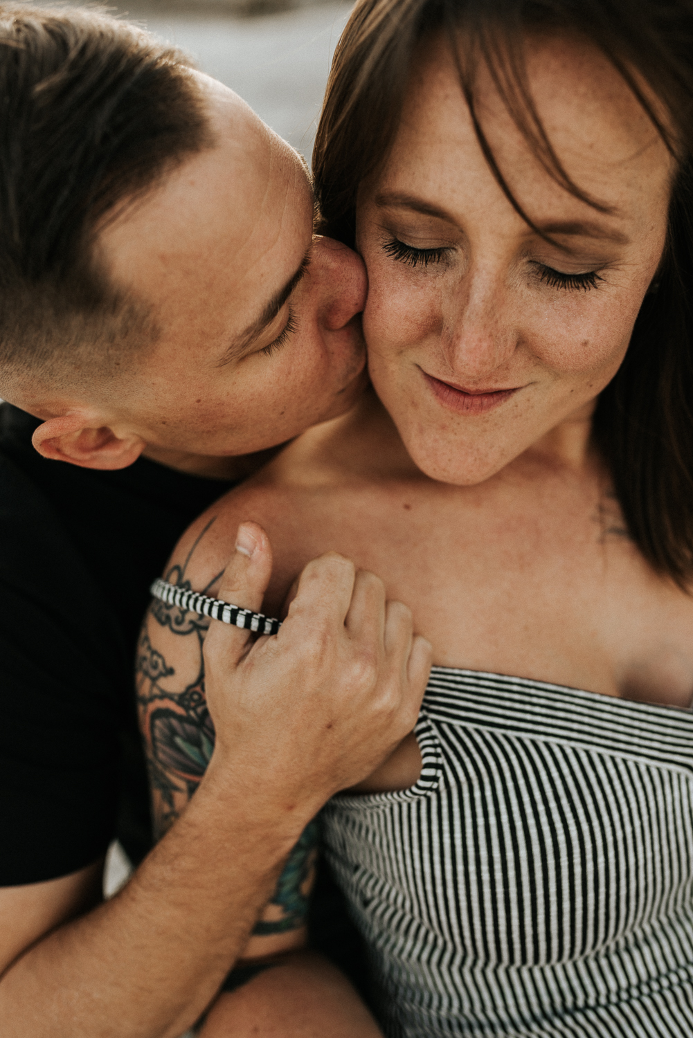 Intimate and Emotive Couples Session in the SC Lowcountry