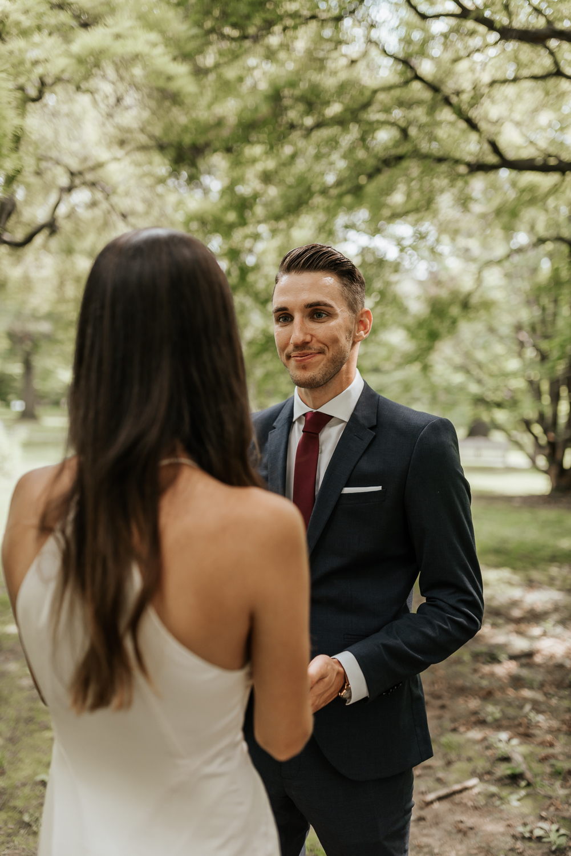 Fairmount Park Elopement Ceremony | Philadelphia Wedding Photographer