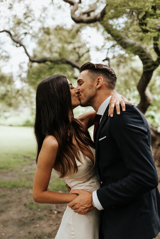 The First Kiss | East Coast Elopement Photographer