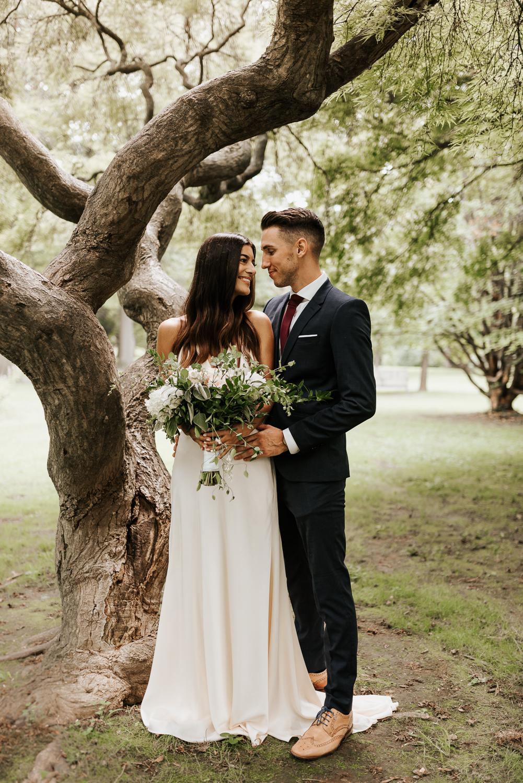 Fairmount Park Wedding Portraits