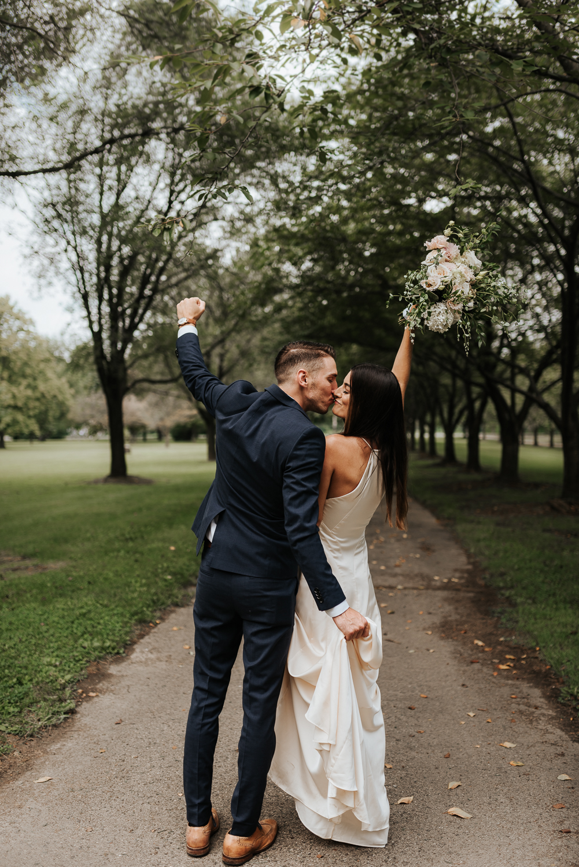Fairmount Park Elopement Ceremony | Morgan Ellis | Philadelphia's Best Couple Photographer