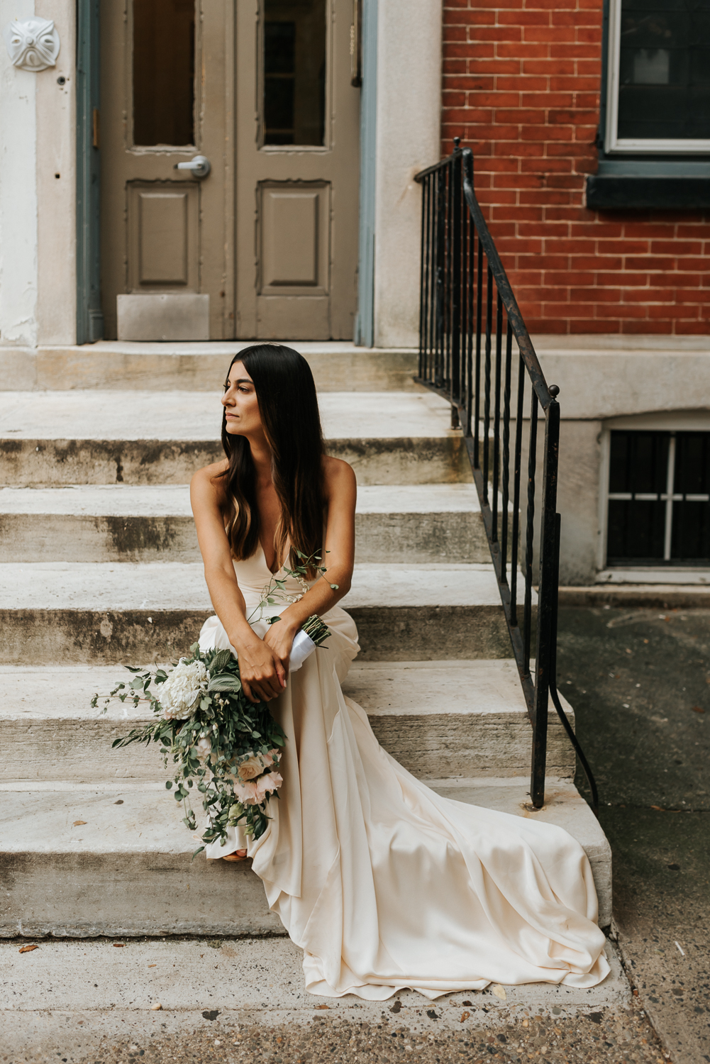 Center City Philly Elopement The Bride