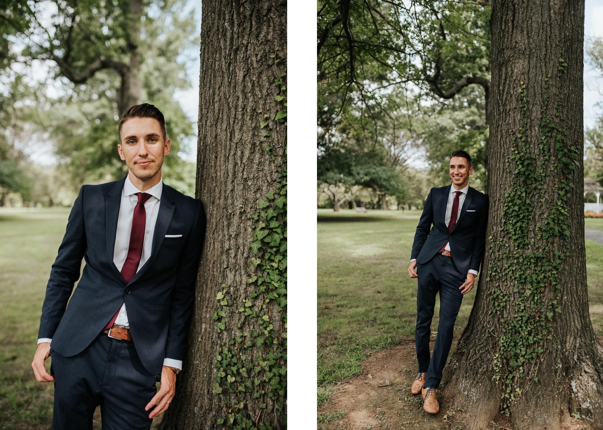 The Groom | Wedding Portraits | Fairmount Park