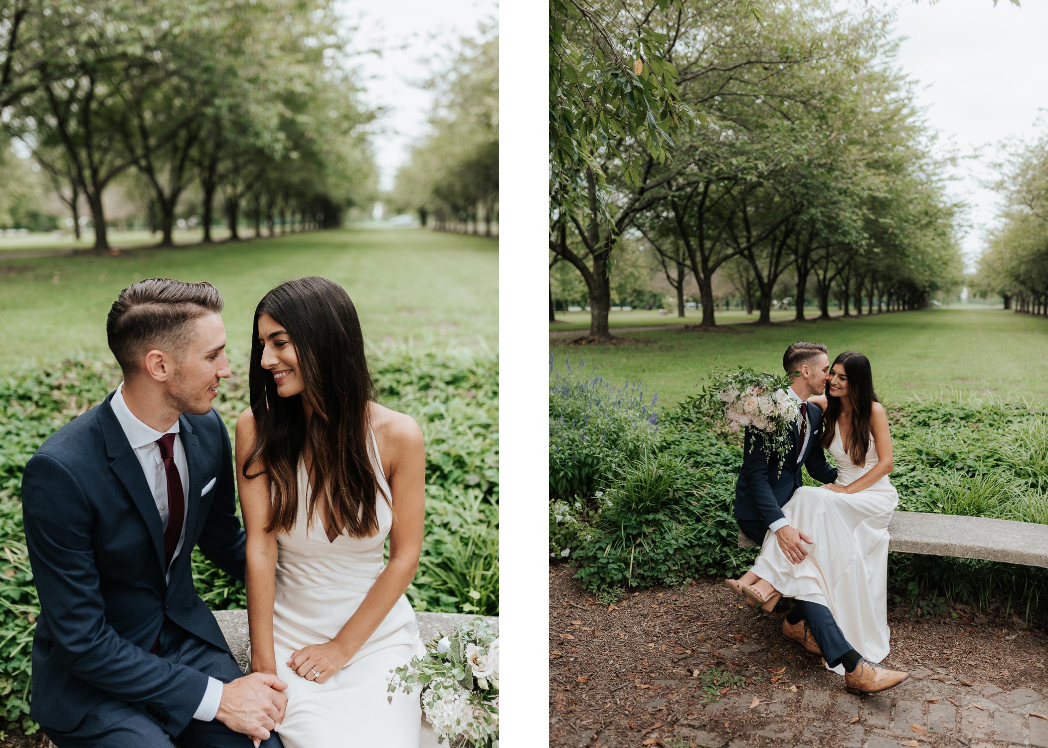 Fairmount Park Wedding