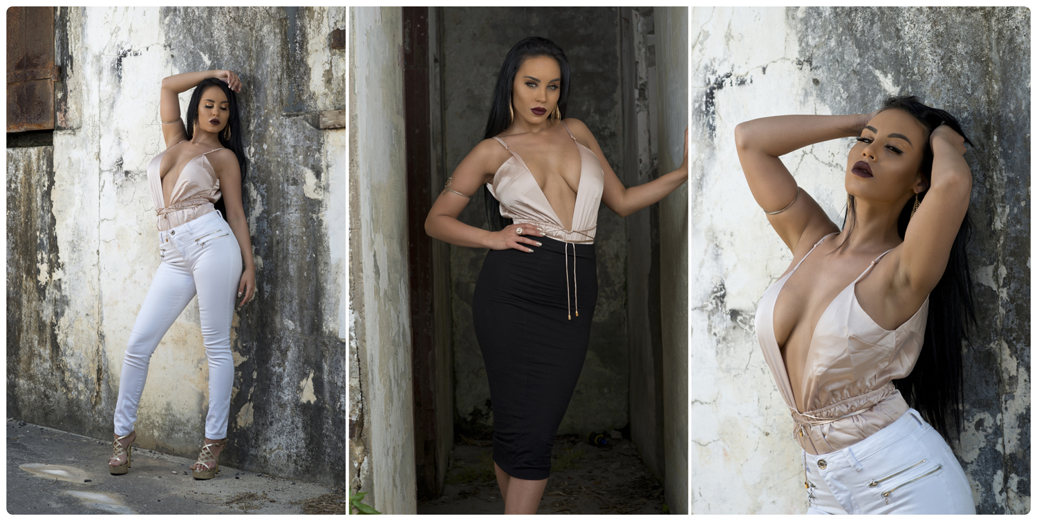 First shoot with fashion blogger Shannae Percossi