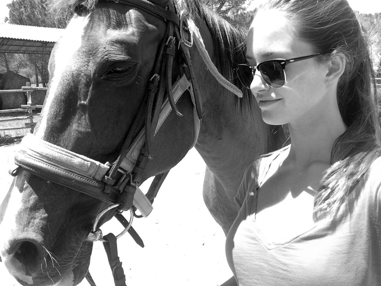 ◆ Horseback riding at La Pescaia Resort with Georgie