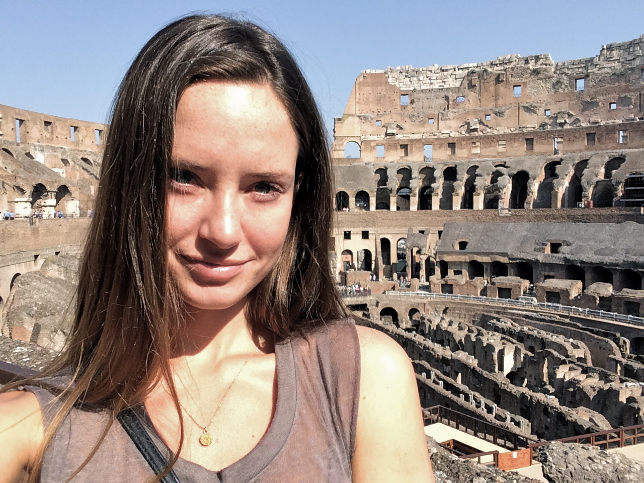 ◆ Selfie at Colosseum for good measure