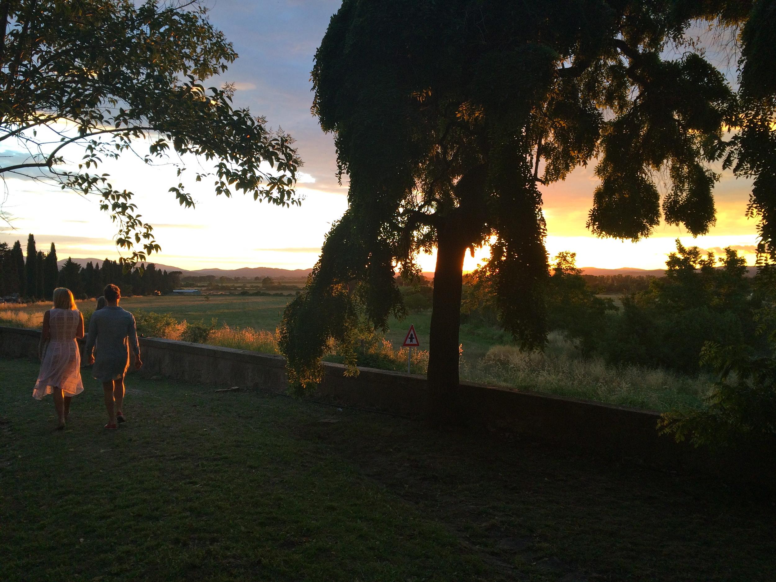 ◆ La Pescaia Resort at sunset