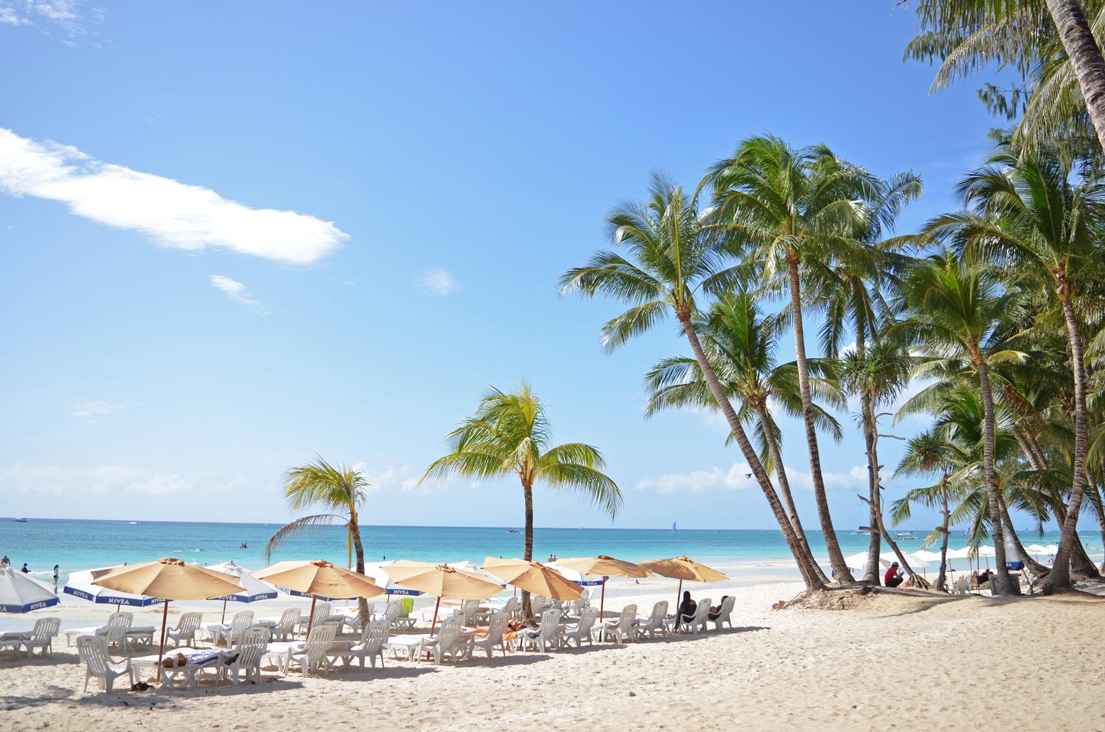 White Beach on Boracay