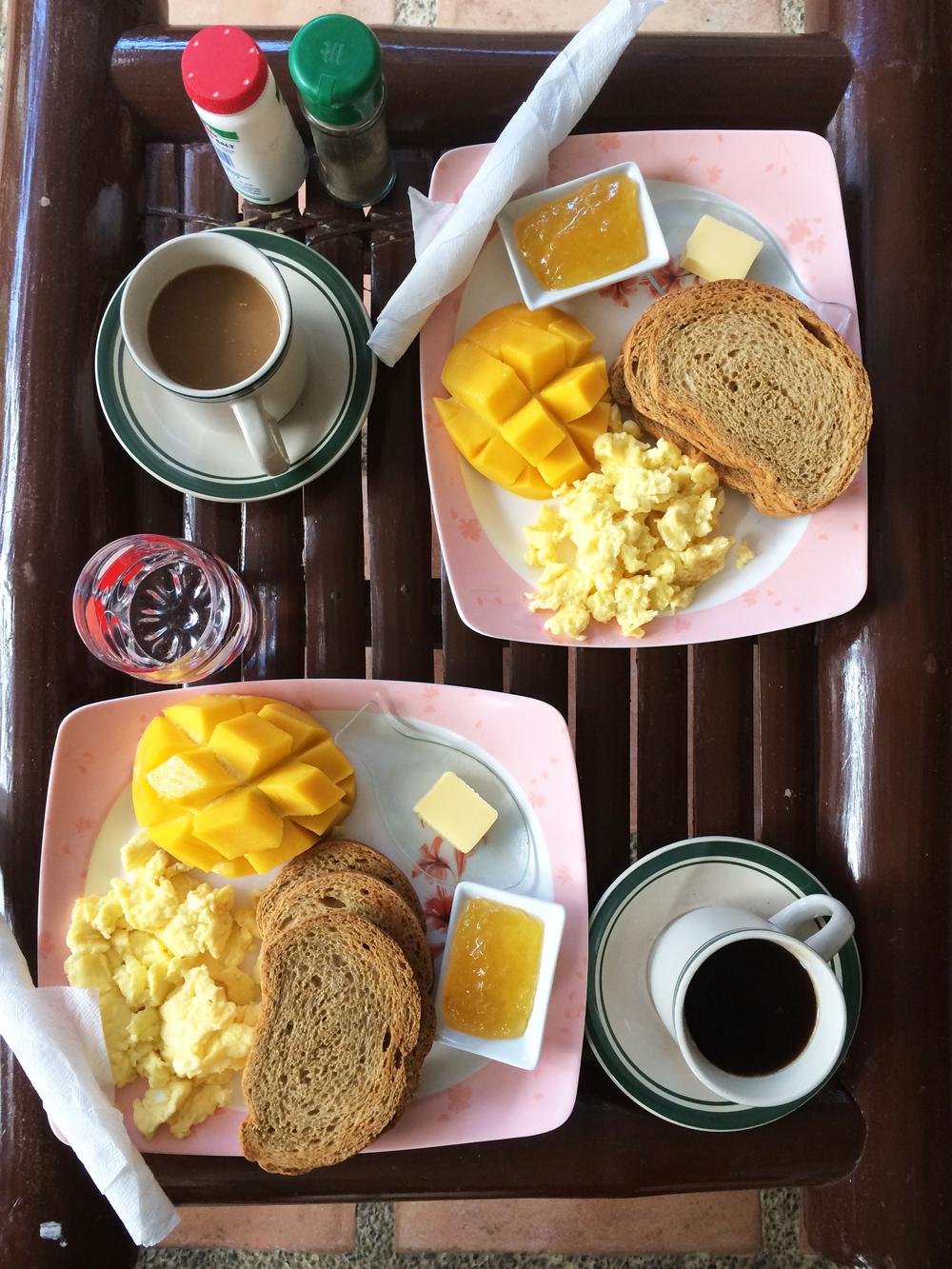Breakfast at Greenyard Inn