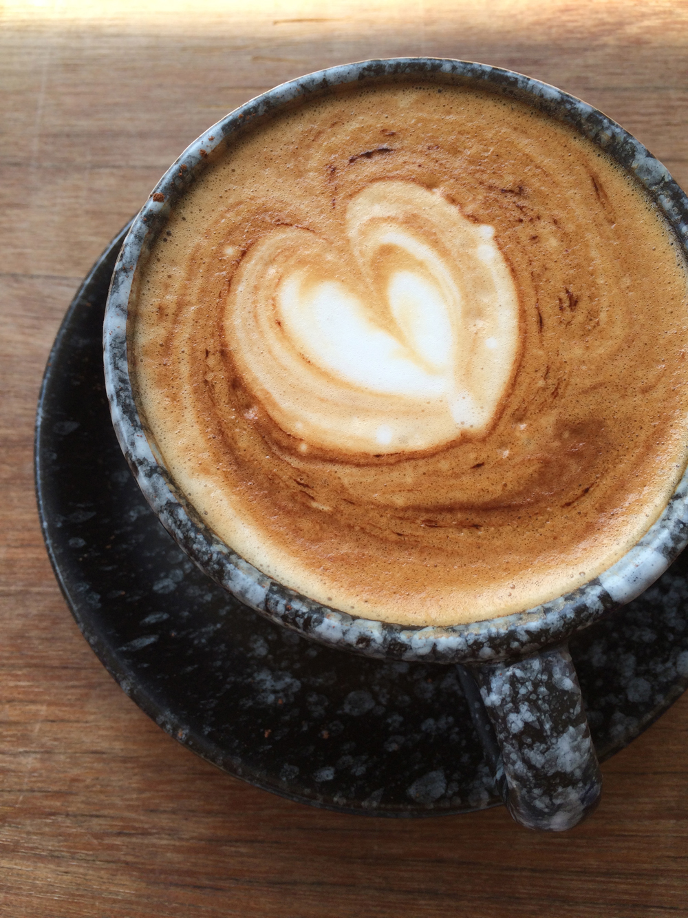 Coffee at  Samatha Bed and Breakfast.