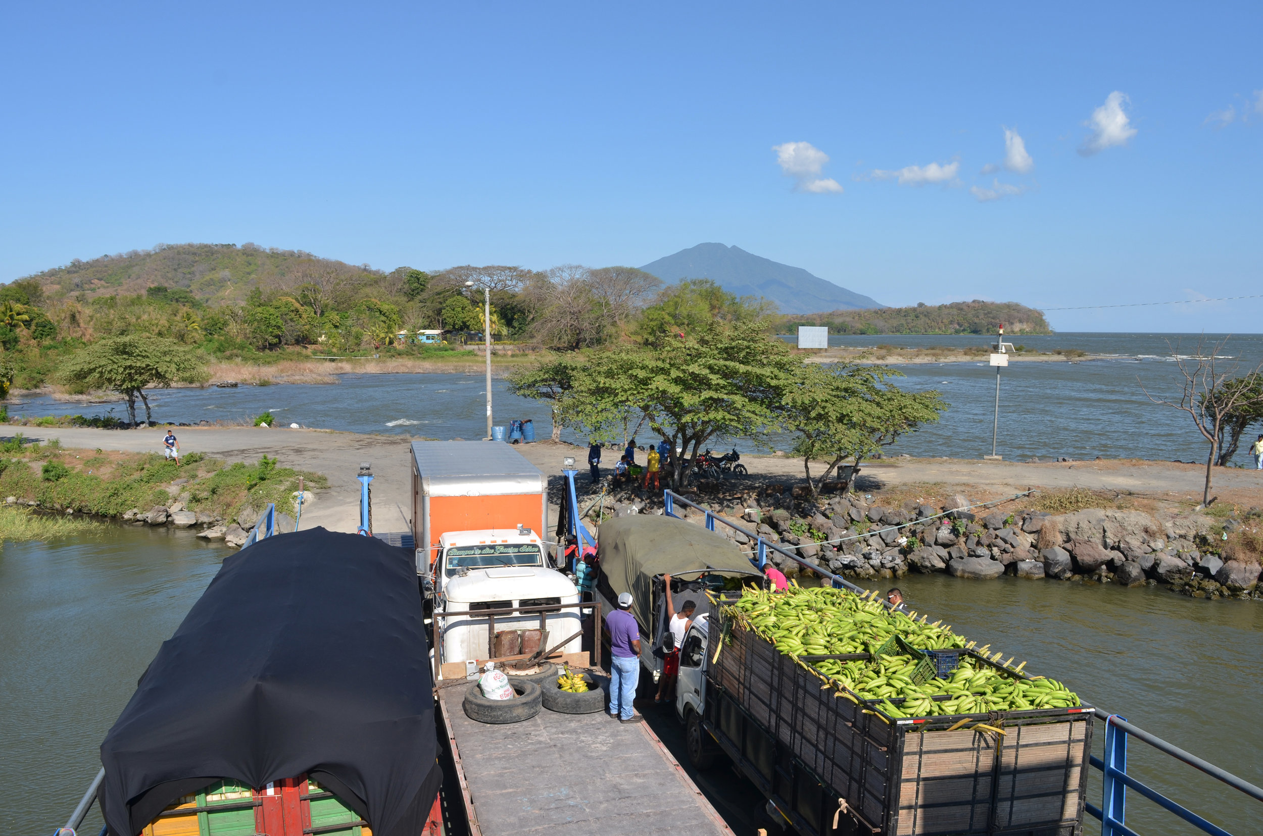 Leaving Isla de Ometepe. :(