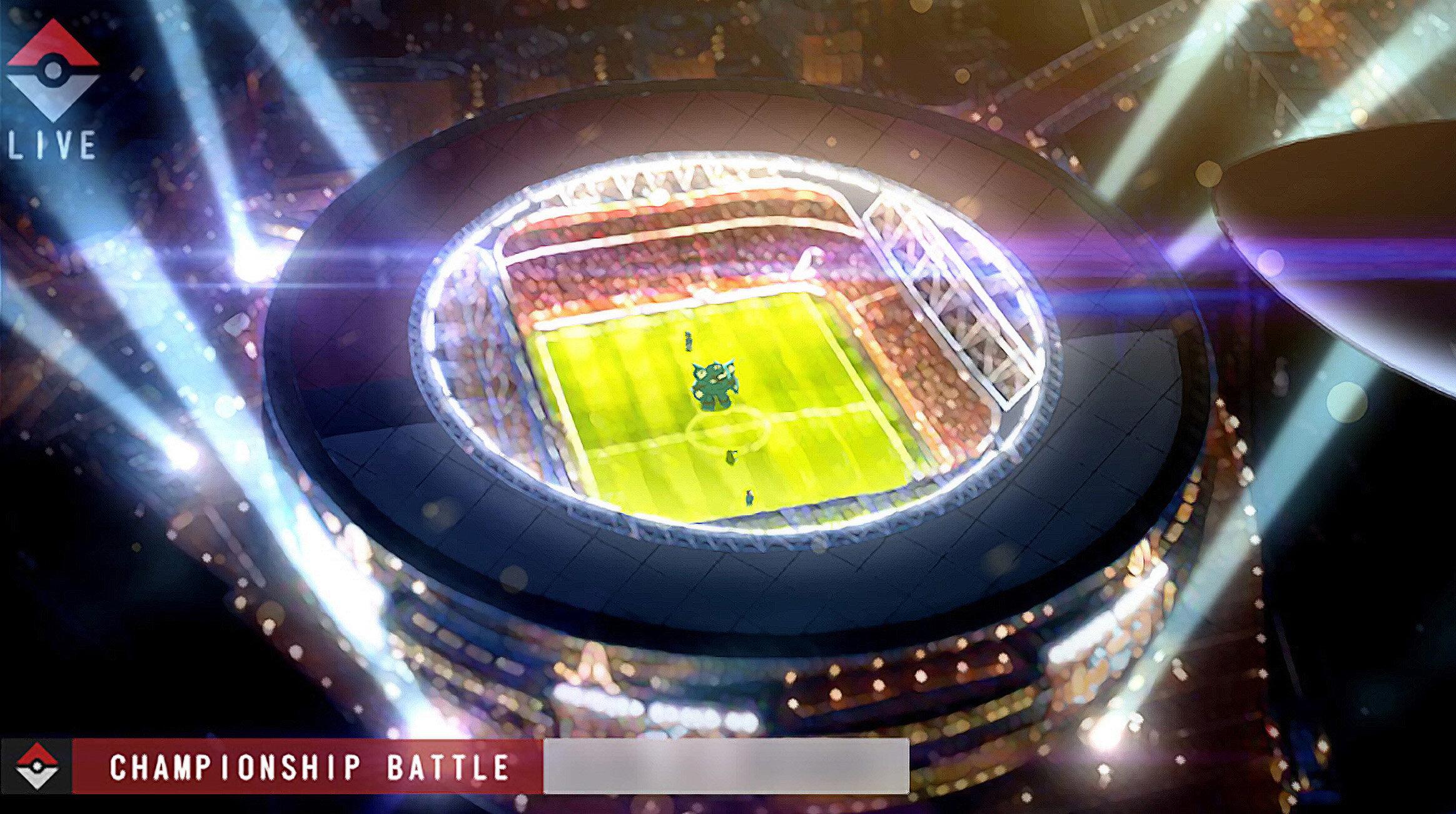 Stadium Battle Concept