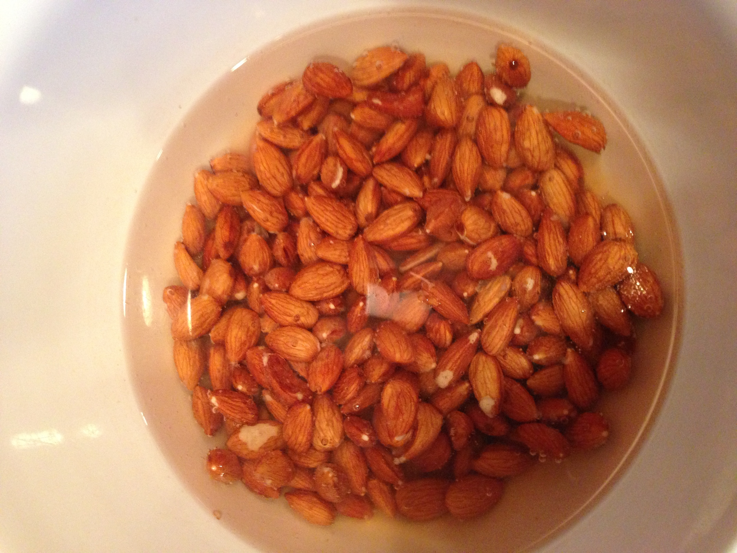 My Pre-Soaked Almonds