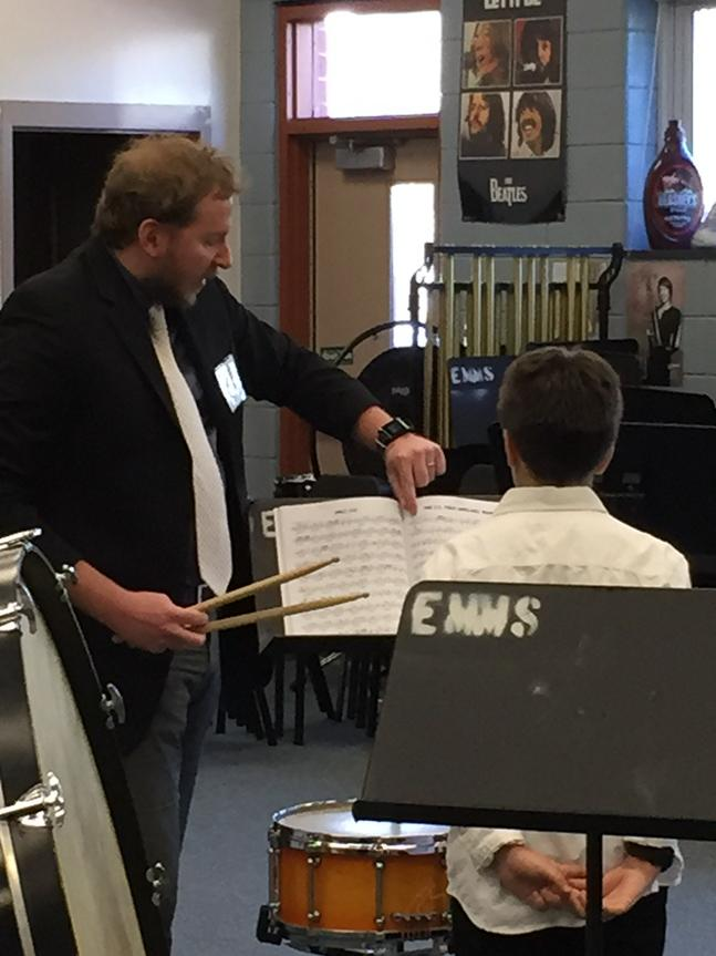 Adjudicating the Howard County Public School System Elementary School Solo and Ensemble Festival