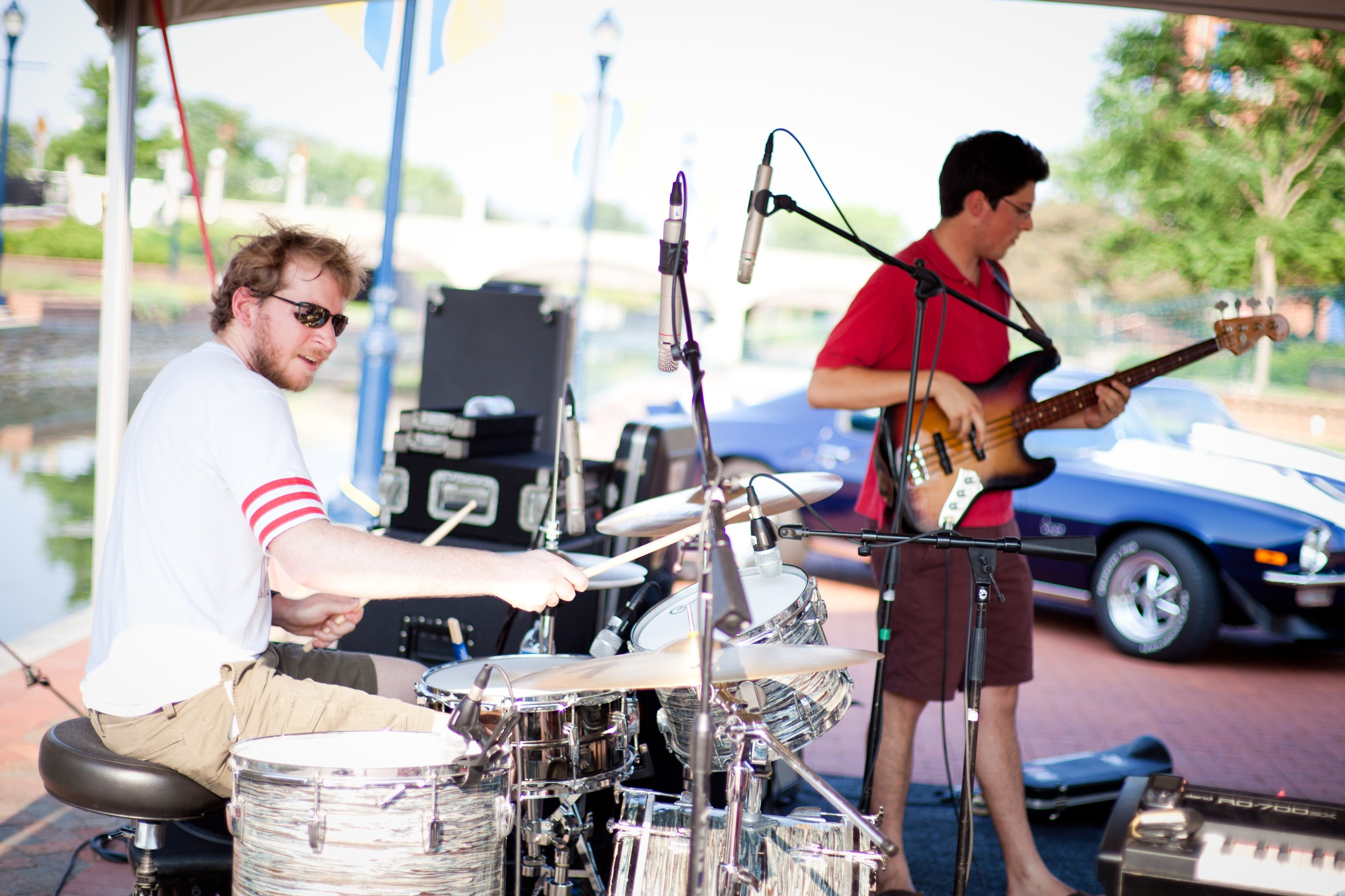 Drumming with The Superland Stage Band