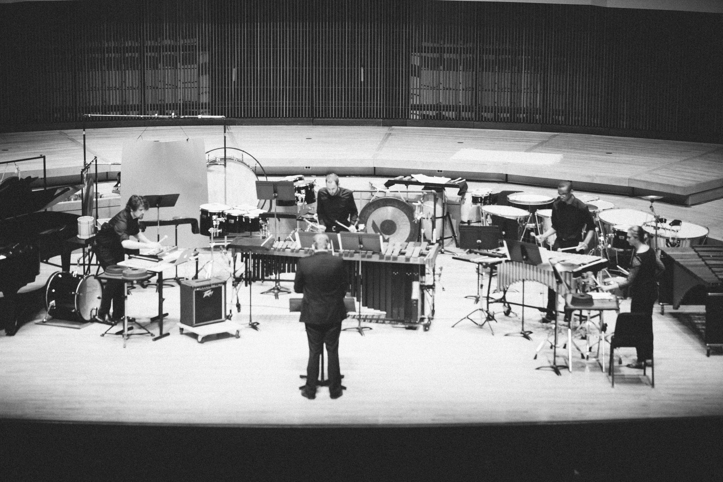 Directing the University of Maryland Percussion Ensemble