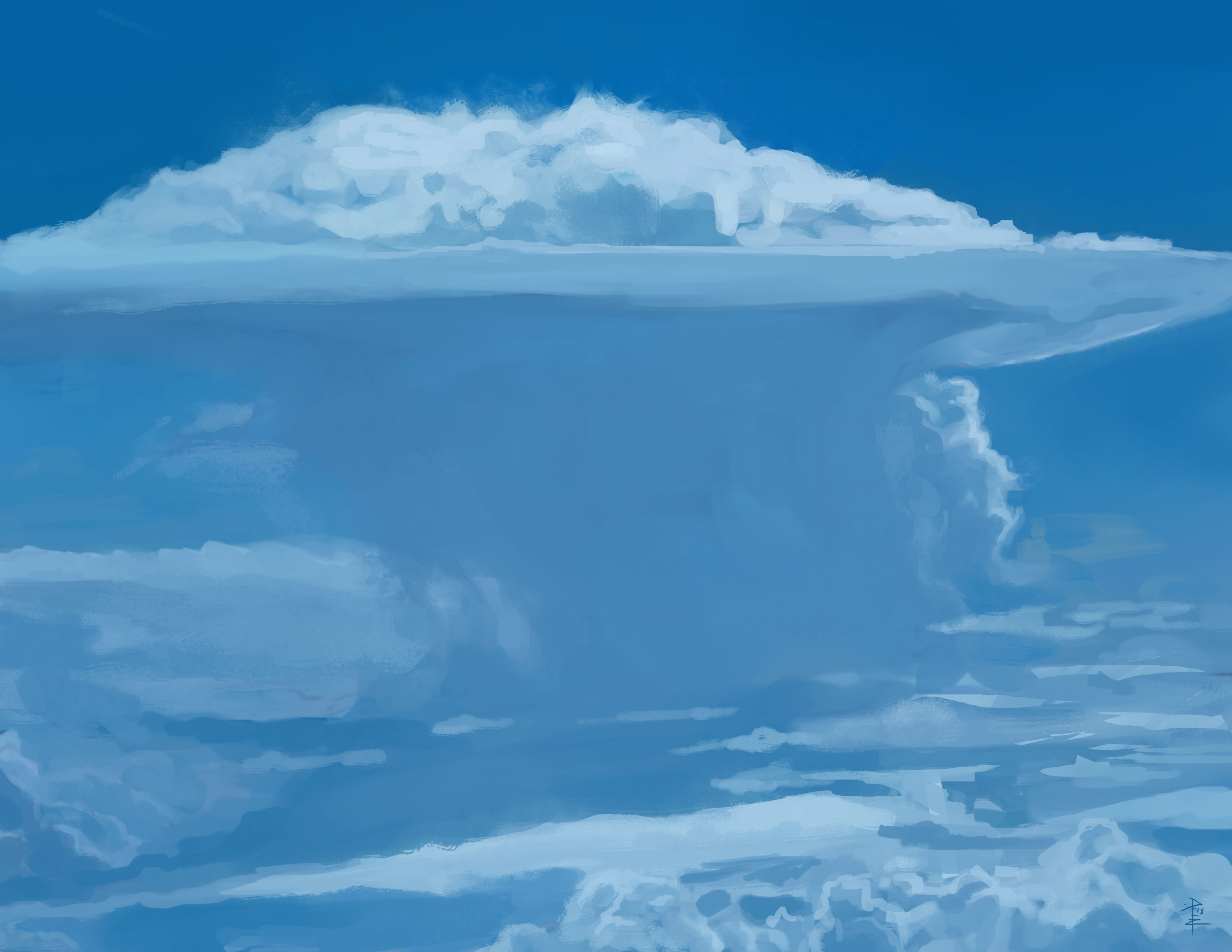 Cumulonimbus from Photo Ref.