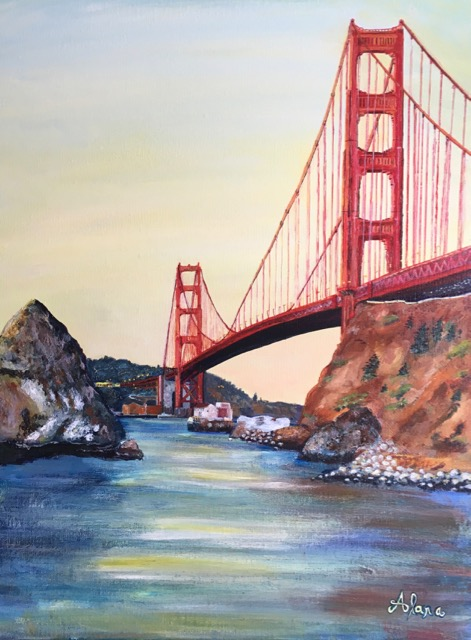 San Francisco Entrance: Golden Gate Bridge I