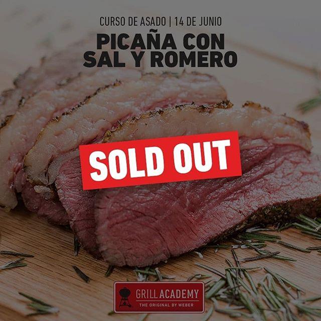 Gracias a todos los parrilleros qur nos acompañarán este viernes en el taller de Picana con sal y romero.  Ya estamos llenos🙈 Pregunta por nuestros próximos talleres.
