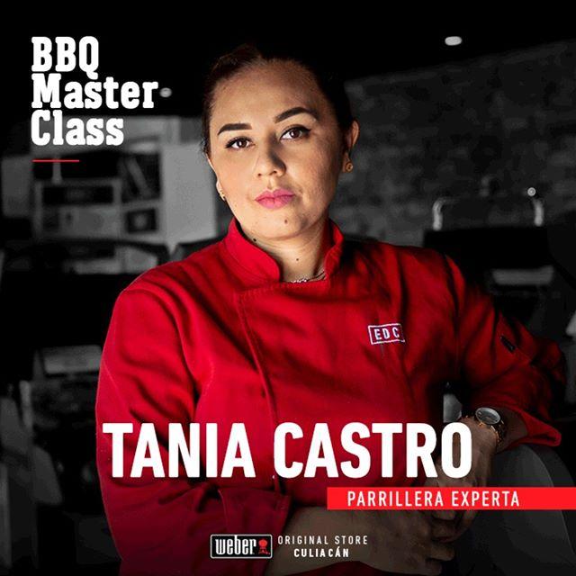 Tania Castro Lugo, Grill Ambassador del noroeste del país, se ha formado como chef banquetera durante 6 años y como chef carnicera durante un año, forma parte del programa de cursos online The Meat Lab.  Te espera este 28 y 29 de junio en la #BBQMasterClass 😏 . . #grillacademy #webergrill #parrilla #masterclass #weberbbq #smoked #grillambassador