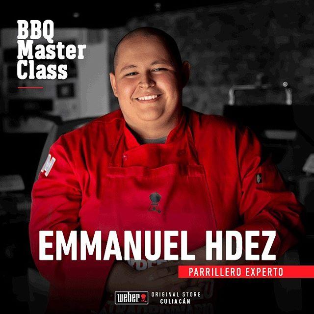 Te presentamos al chef Emmanuel Hernández Páez, Weber's Grill Ambassador, forma parte de los cursos online de The Meat Lab, es Licenciado en Gastronomía, se desempeñó como sous-chef en un restaurante de comida regional, cuenta con experiencia en carnicería, servicio de banquetes y parrilladas.  Conócelo en nuestra #BBQMasterClass