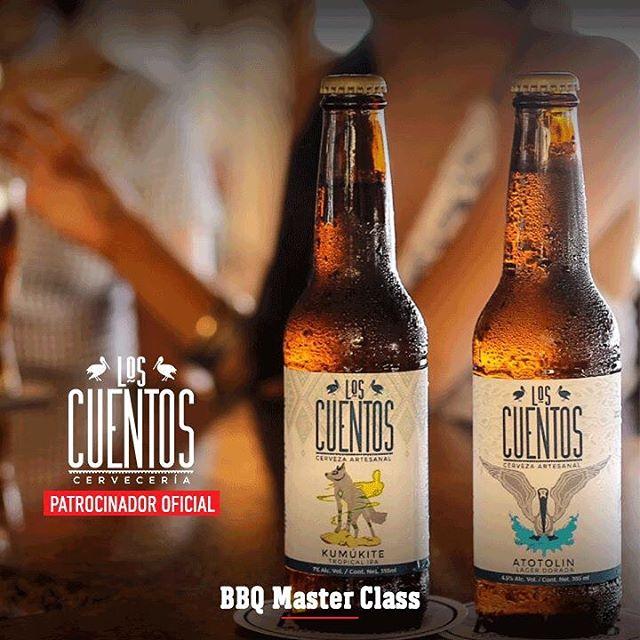 La Cerveza Artesanal Los Cuentos nace en 2013 con el fin de crear un sentimiento diferente a la hora de probar una cerveza artesanal. Tras un viaje por México, Norteamérica y Europa logran mezclar a la perfección la experiencia de dos continentes y así crear su excepcional sabor.  Pruébala en #BBQMasterClass