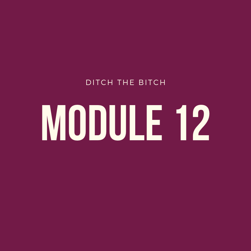 Module 12: MINDSET - -How to overcome negativity-Working through trauma-Impact of your Outlook on cycles + ovulation-How to have amazing days-My favorite resources-How your thoughts are impacting your hormones-Fertility + Mindset