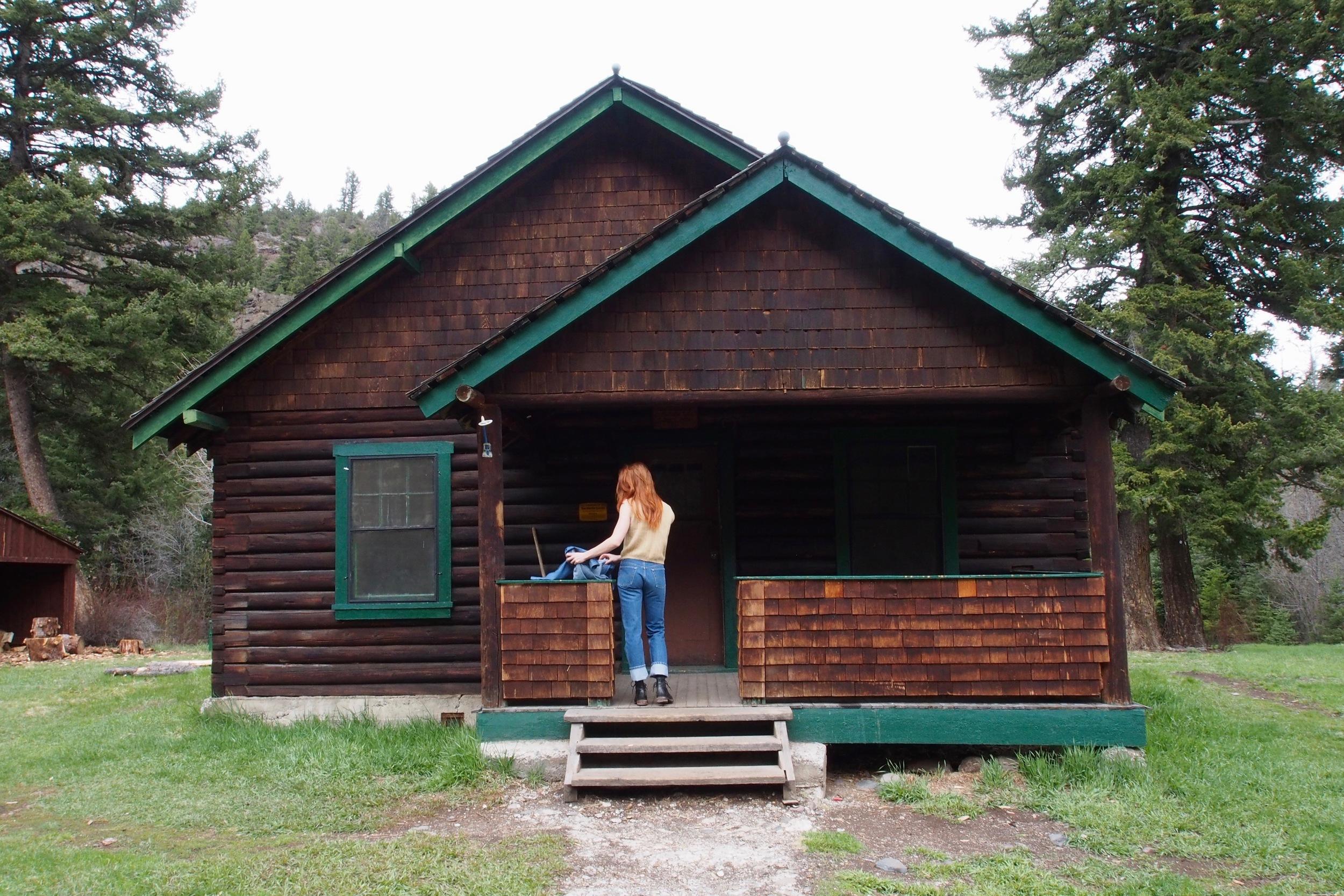 Big Creek Forest Service Cabin