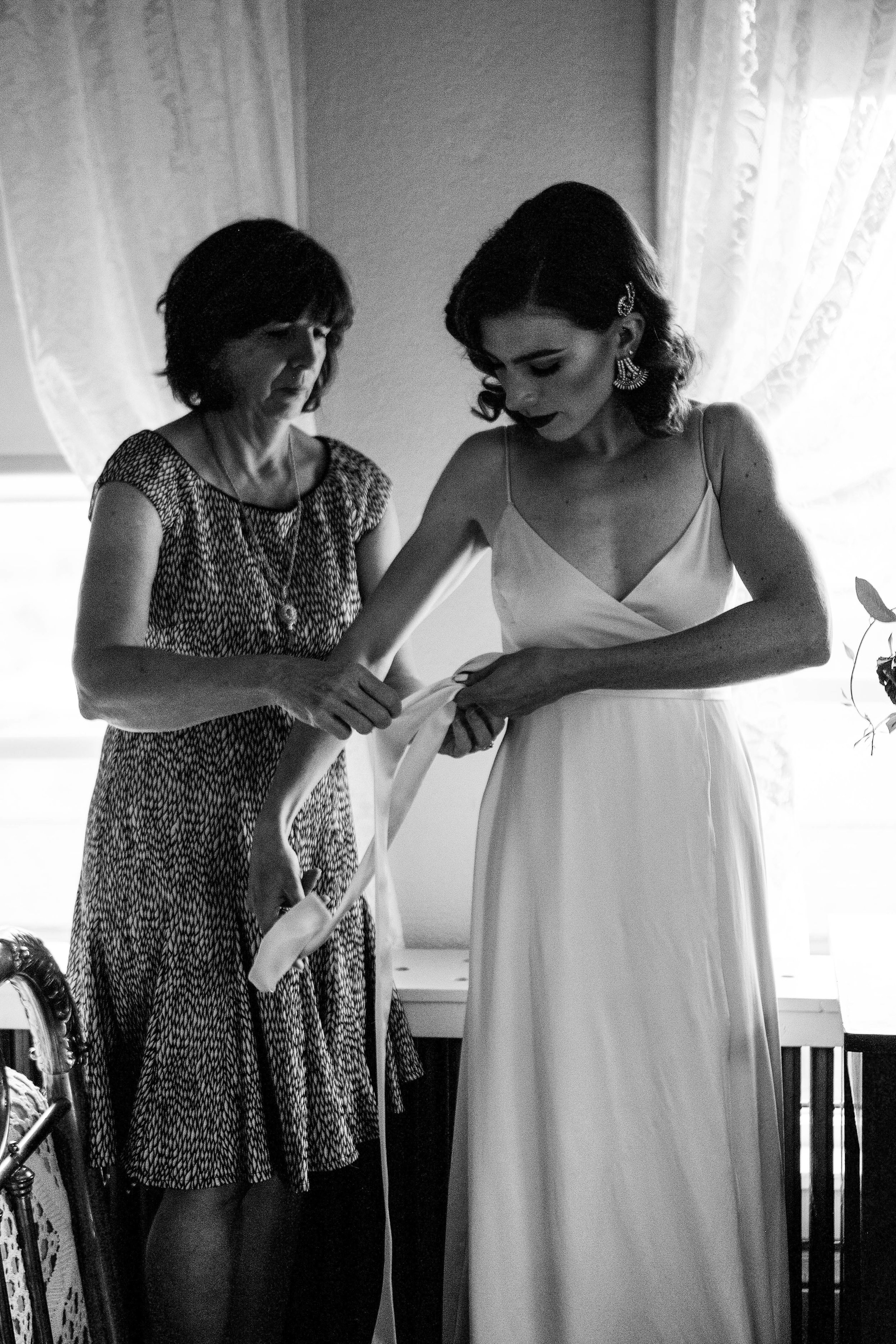 mother & daughter bridals - Windy Peak Vintage