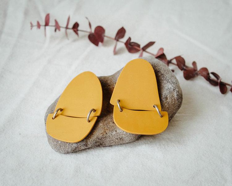 Belem Earrings in Gold