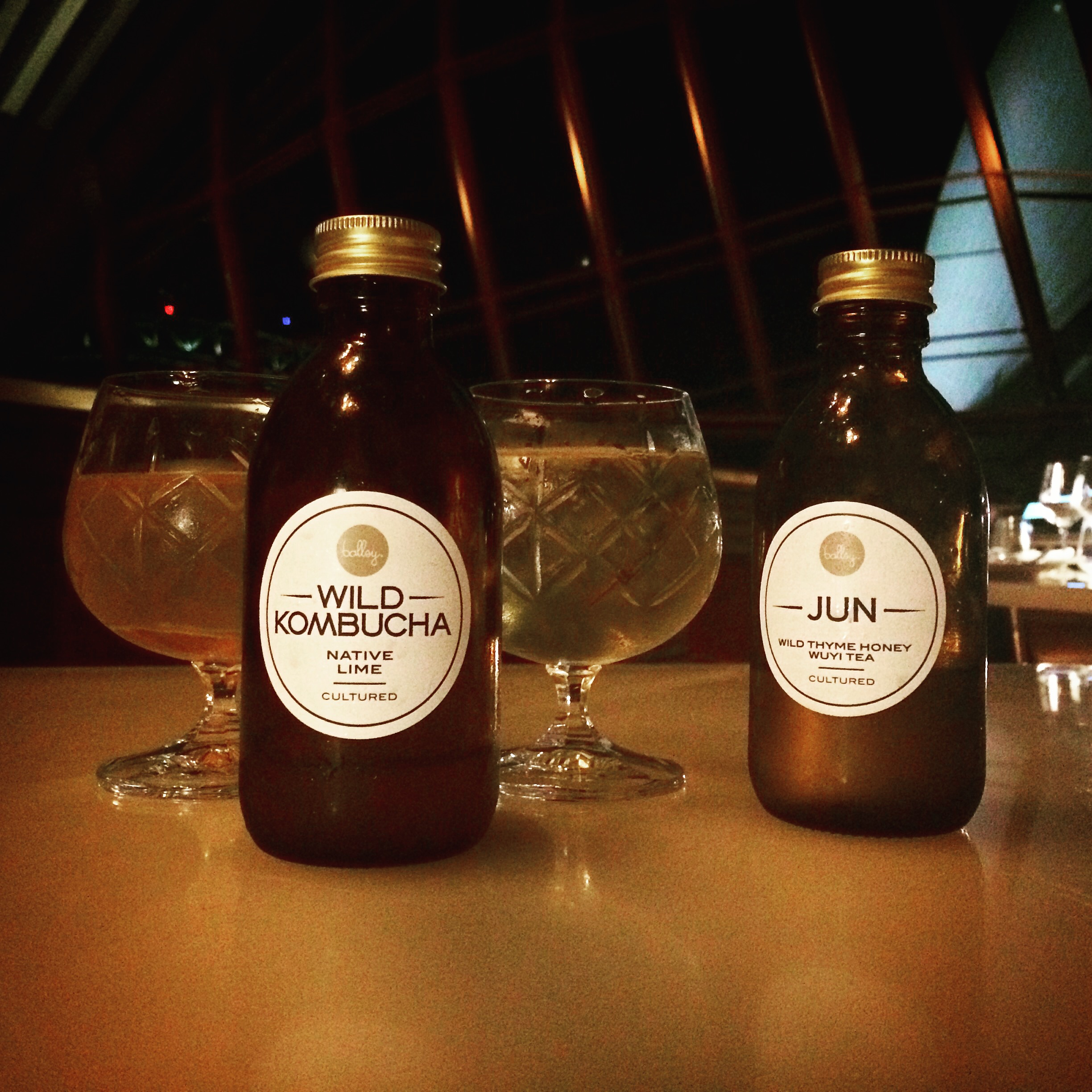 Specialised brews for Quay Restaurant.