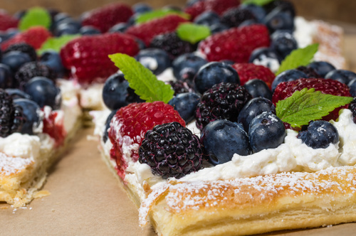 VIVE Recipes Fruit Tart