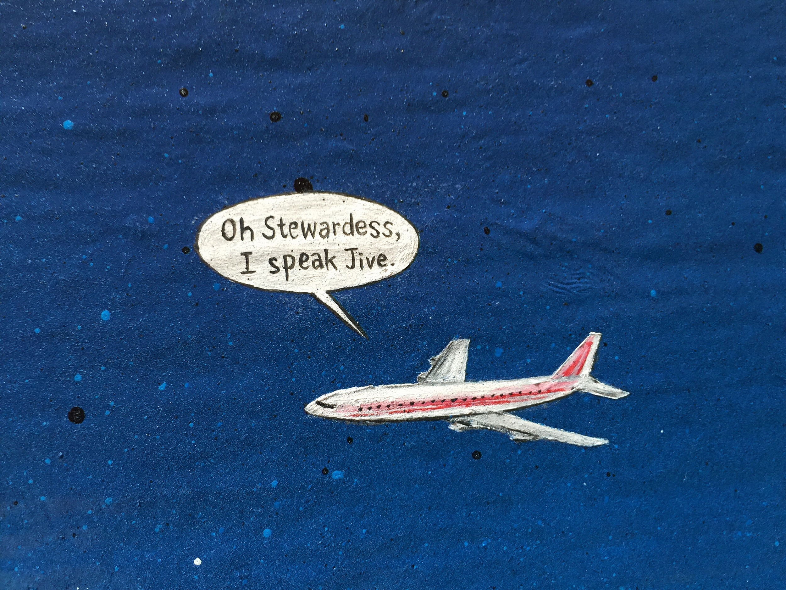 I SPEAK JIVE (Detail)