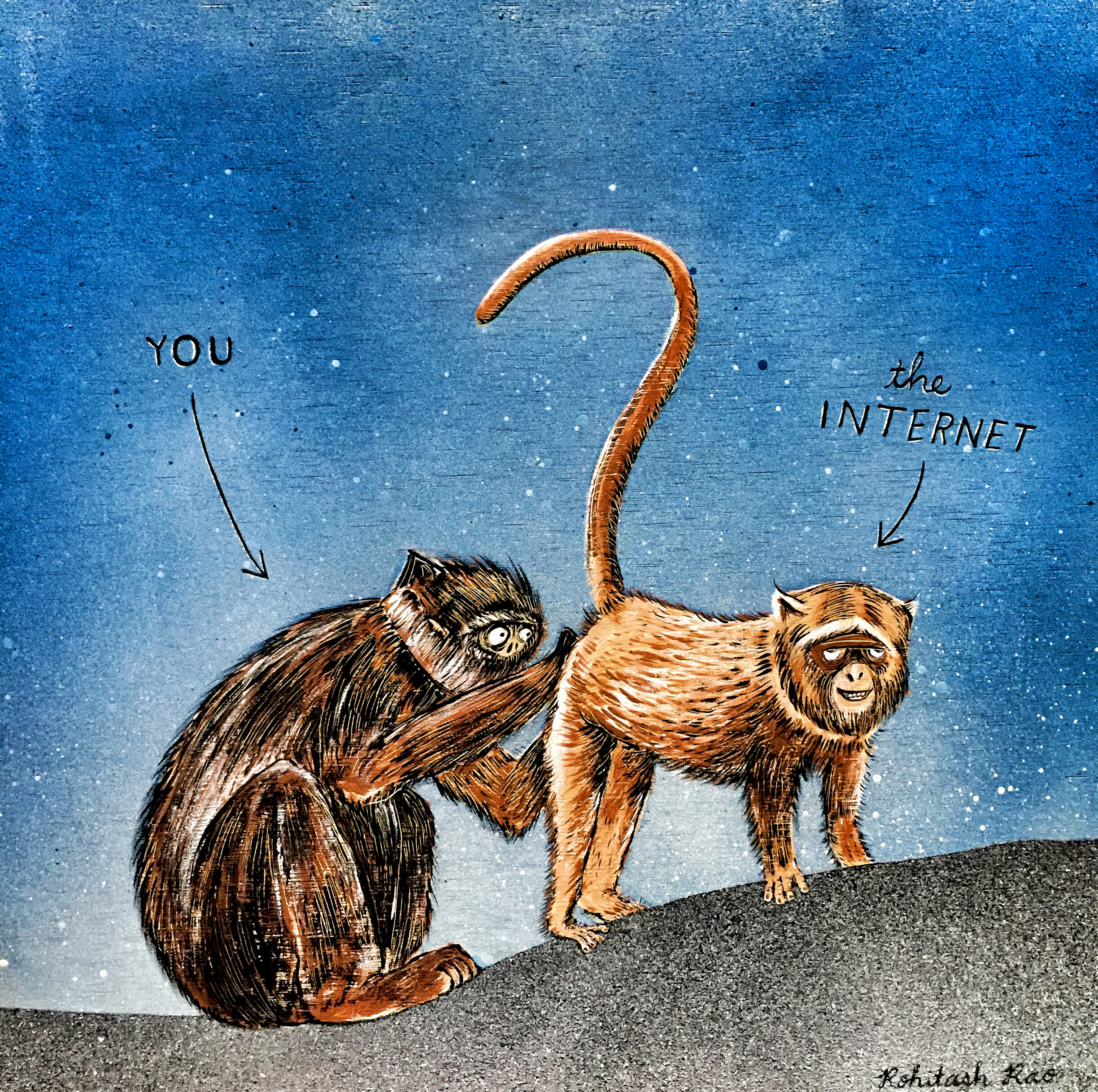YOU AND THE INTERNET