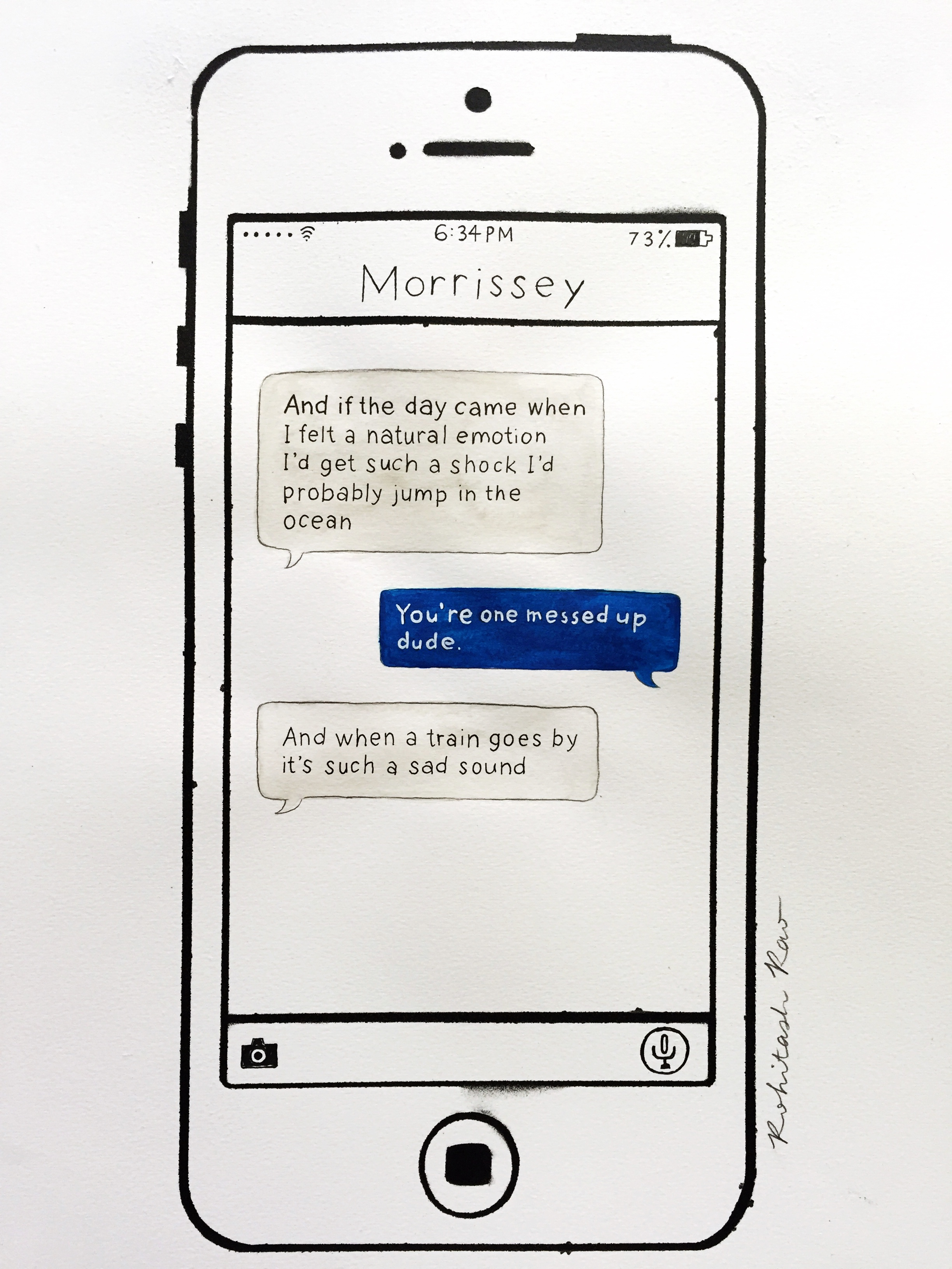 TEXTS FROM MORRISSEY: NOWHERE FAST