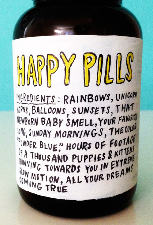 HAPPY PILLS (detail)