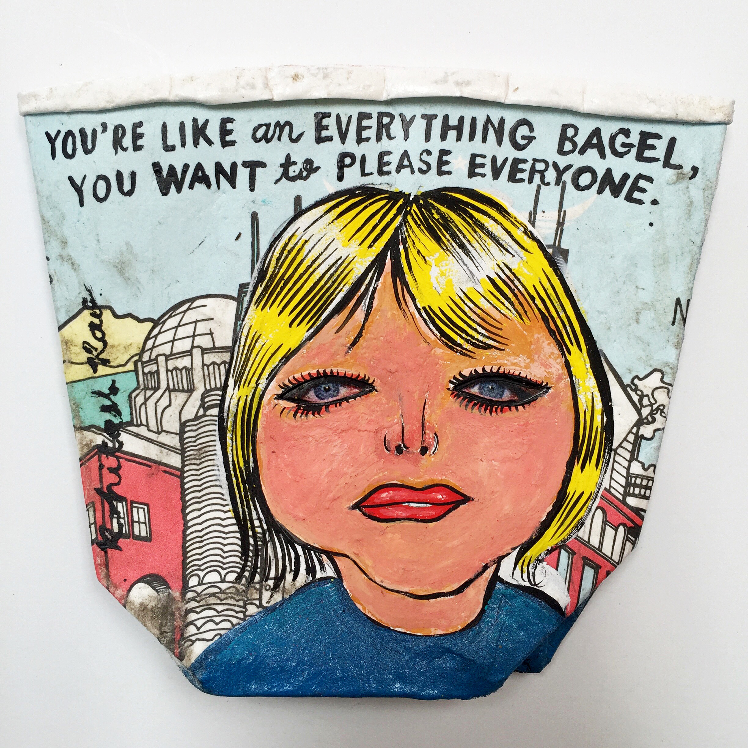 YOU'RE LIKE AN EVERYTHING BAGEL