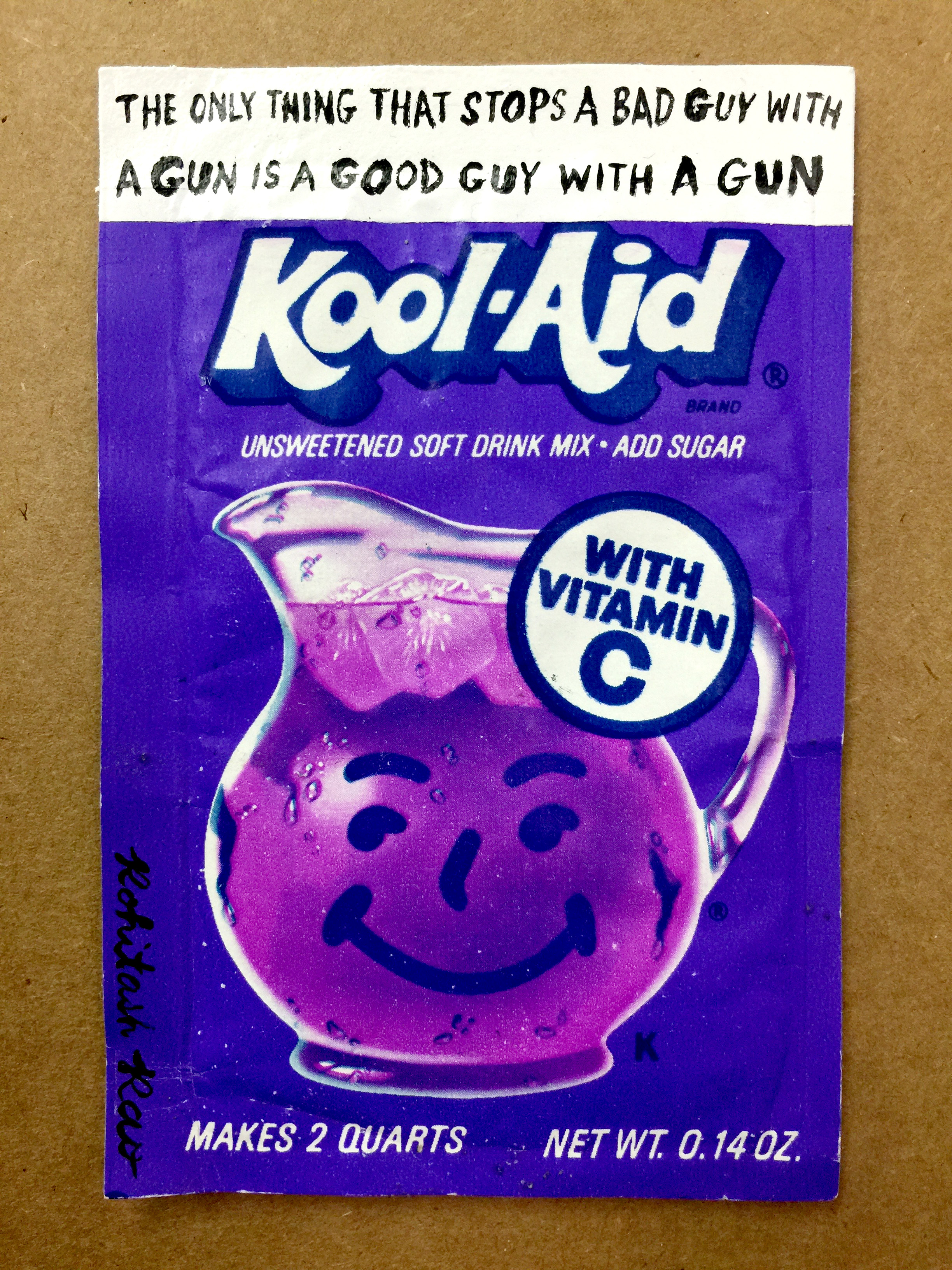 KOOL AID: BAD GUY WITH A GUN