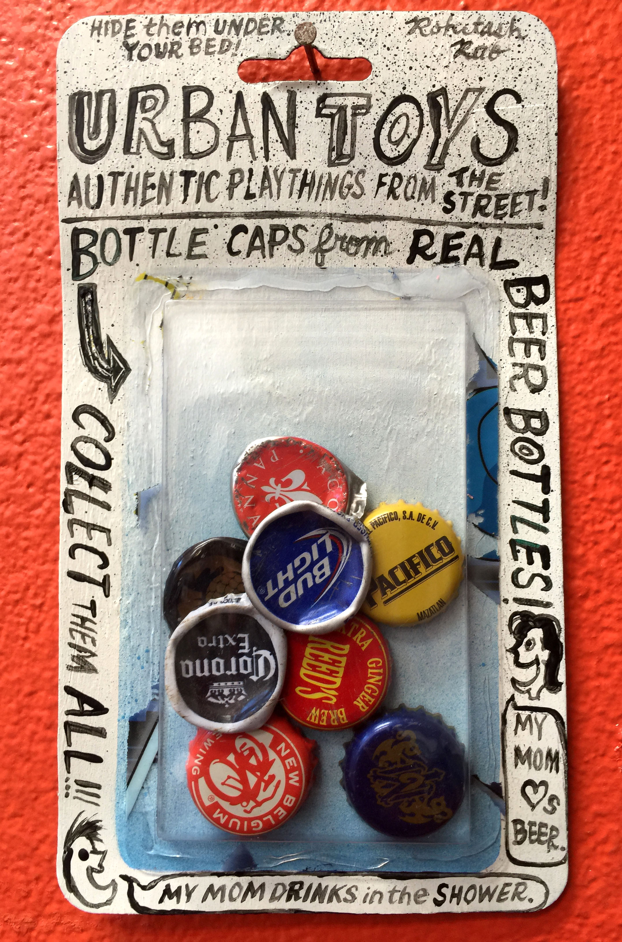 URBAN TOYS: BEER BOTTLE CAPS