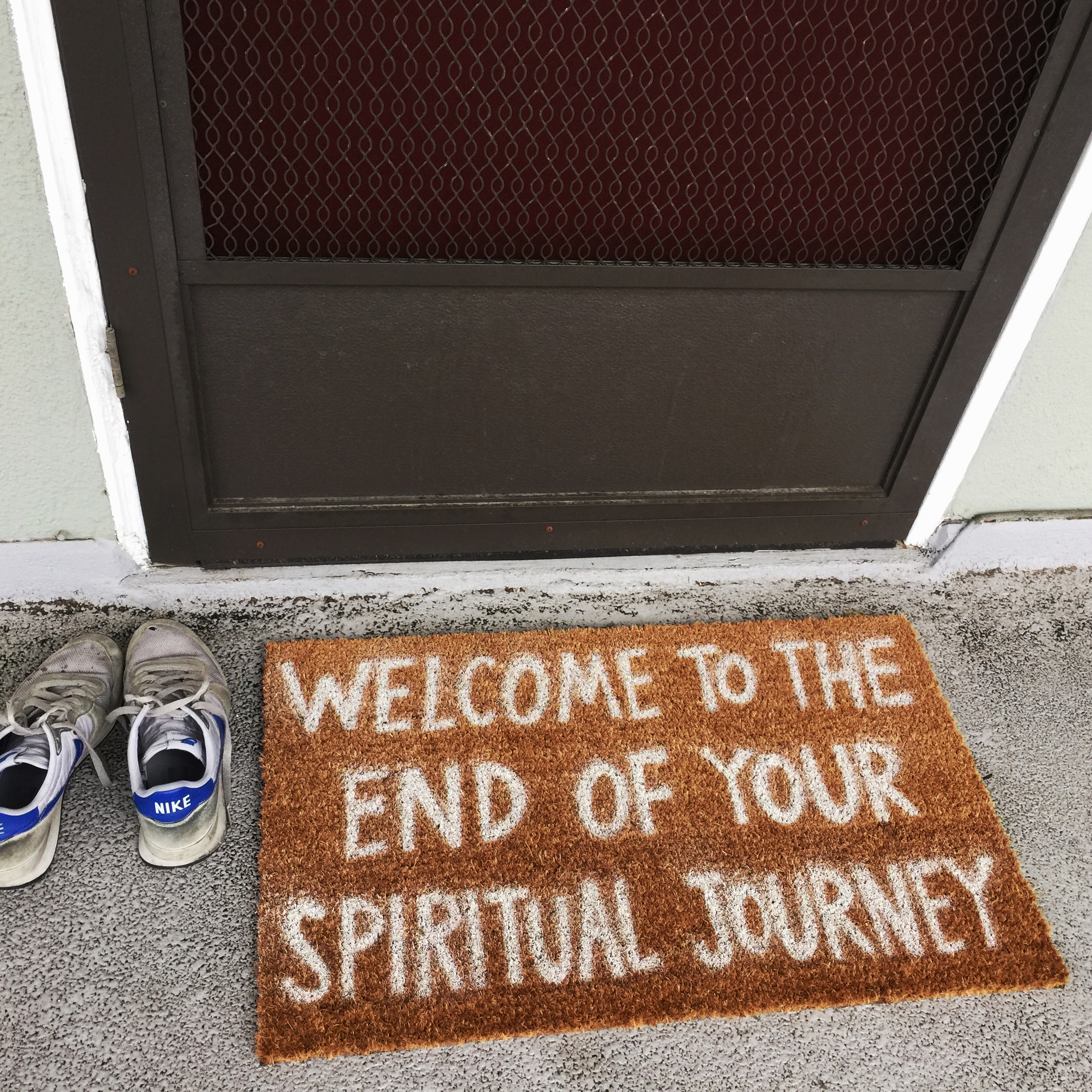 WELCOME TO THE END OF YOUR SPIRITUAL JOURNEY