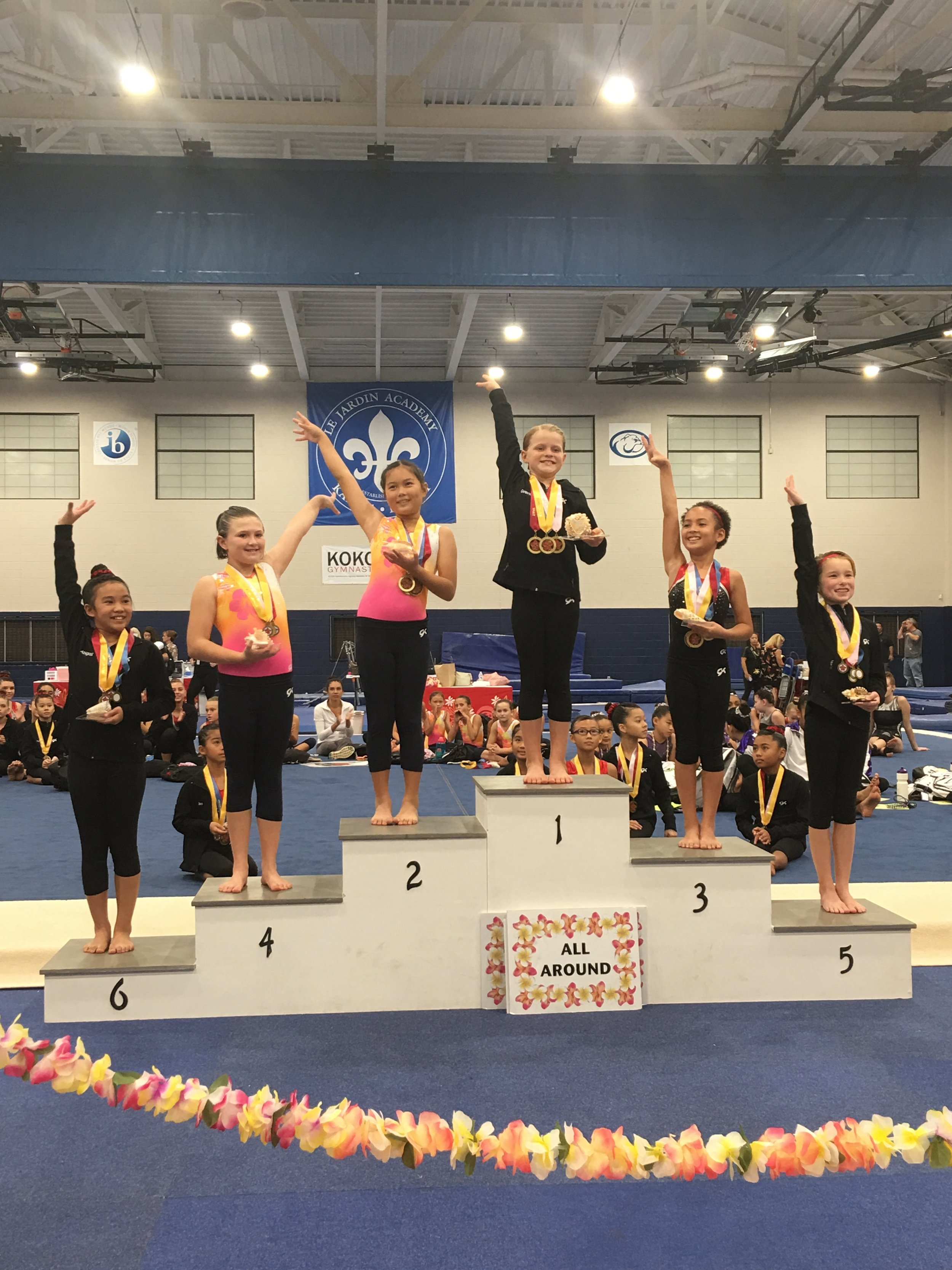 Gwen Jorgensen from our Homeschool Team First Place and All Around Champion