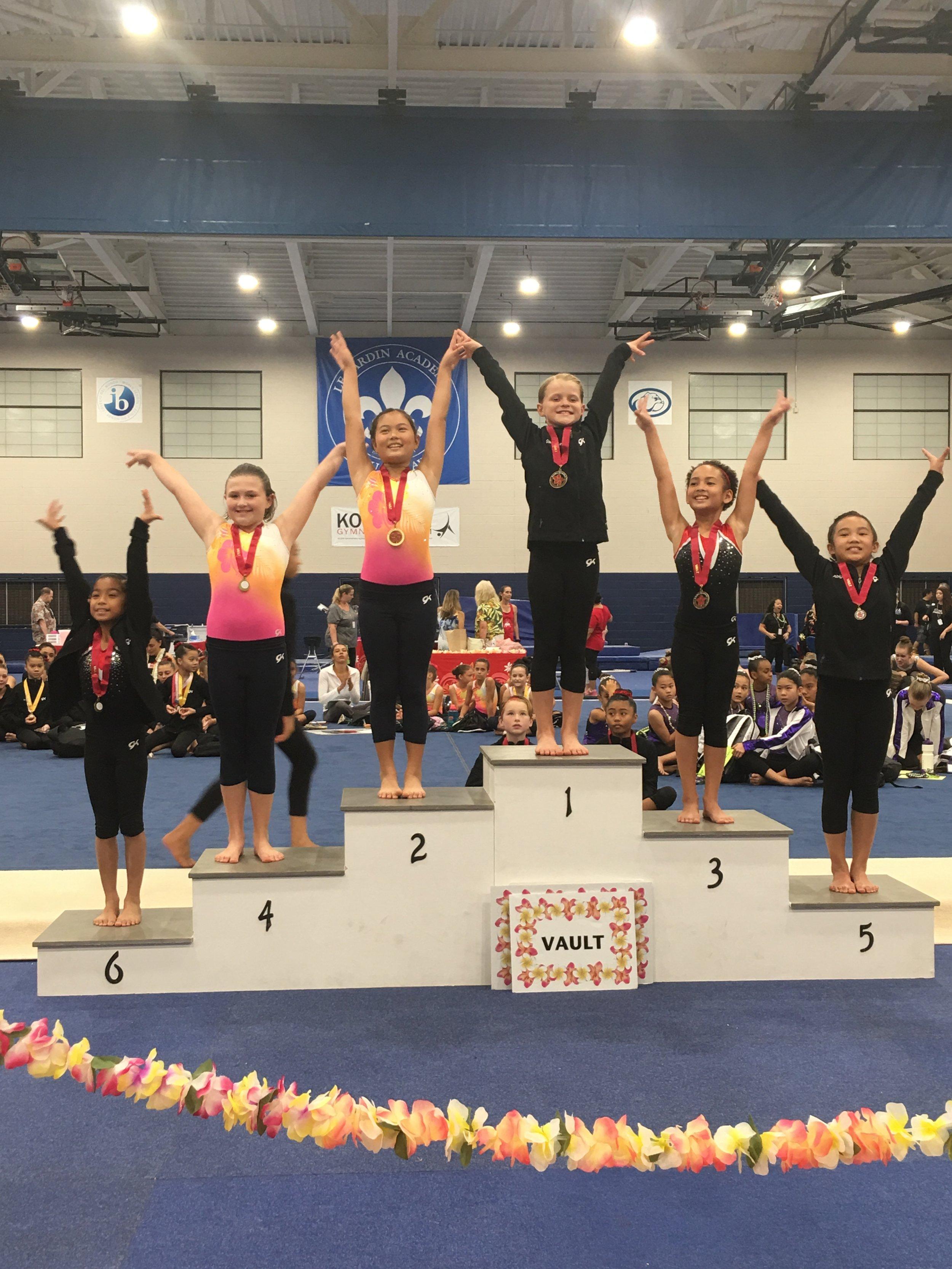 Gwen was also Floor Champion