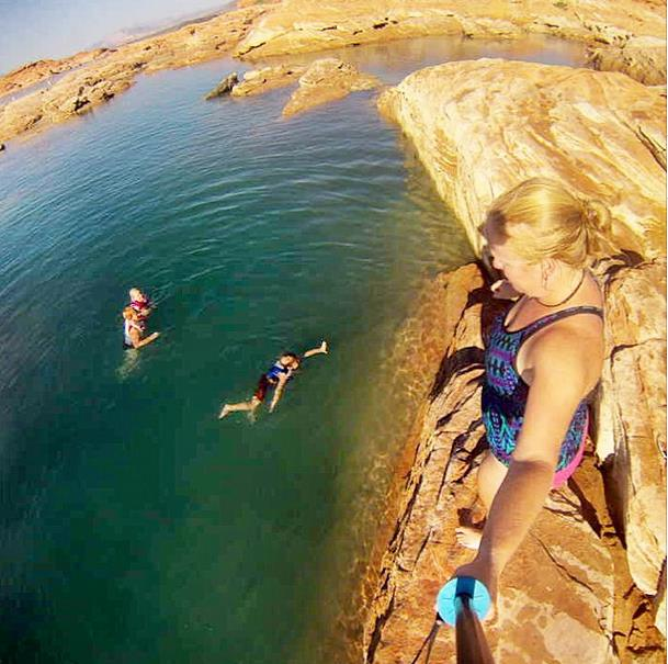Kid Project: Camping and Swimming at Sand Hollow State Park
